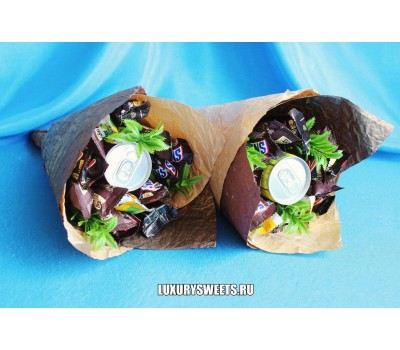 Букет из шоколадных батончиков Гудвин