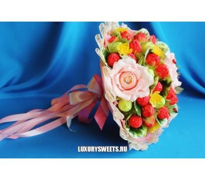 Букет из конфет Сладкая роза