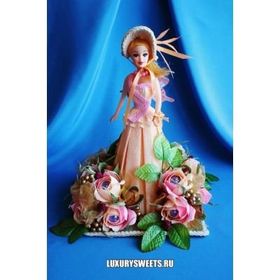 Кукла из конфет Каролина
