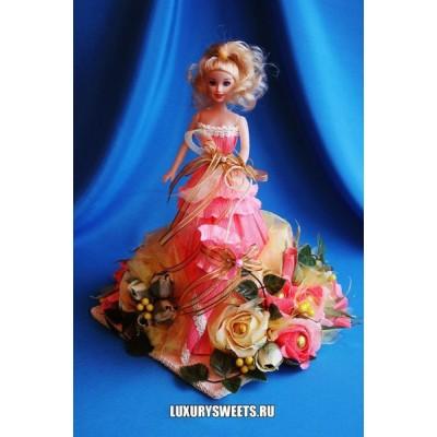 Кукла из конфет Красавица Сабрина