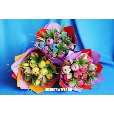 Букет из конфет Городские цветы