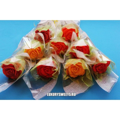 Букет из мыла Мыльная роза 2