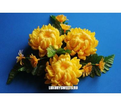 Мыло ручной работы Шикарная хризантема