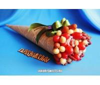 Мужской букет-закуска из колбасы  Вечный бродяга