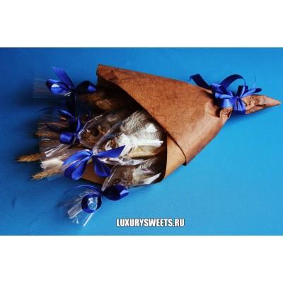 Мужской букет из вяленой рыбы Провокация