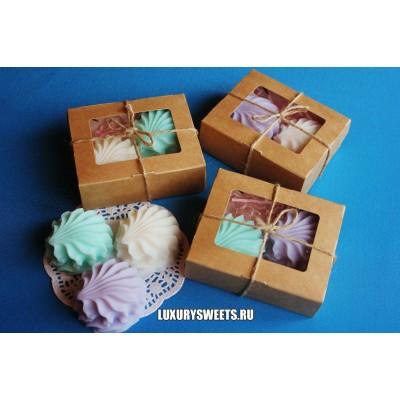 Мыло ручной работы Набор в коробочке Зефир