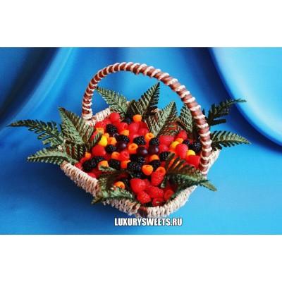 Композиция из мыла ручной работыЯгодная батаника