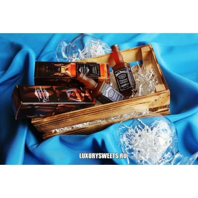 Мыло ручной работы Виски Jack Daniels в подарочной коробочке