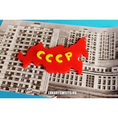 Мыло ручной работы Карта СССР