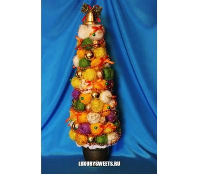 Сизалевая ёлочка Яркий праздник