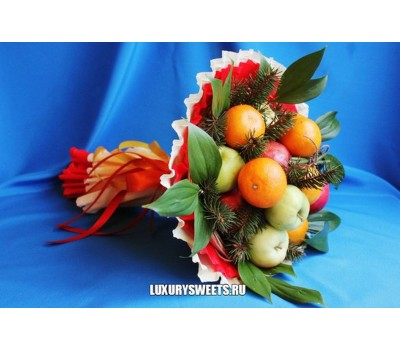 Букет из фруктов Зимний фреш