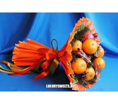 Букет из фруктов Мандарины и корица