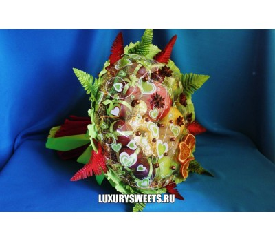 Конфетно - фруктовый букет  Гранатовый нектар