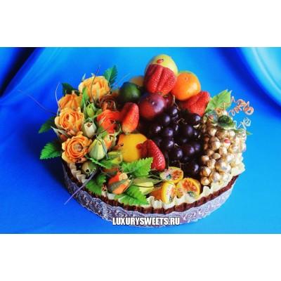 Торт из фруктов Фруктовый рай 2