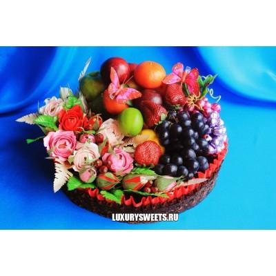 Торт из фруктов Фруктовый рай 3