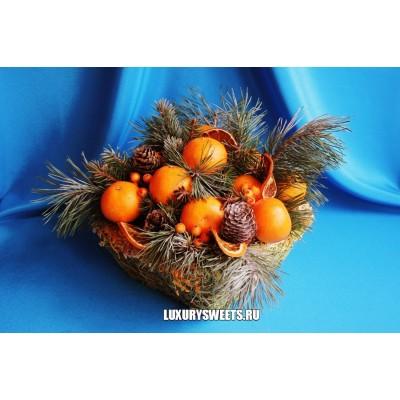 Фруктовое лукошко Мандариновый нектар