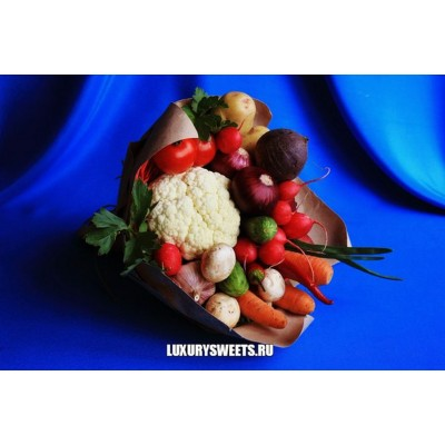 Букет из овощей Овощемания