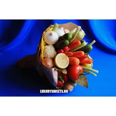 Букет из овощей Овощной фреш