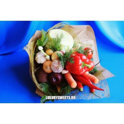 Букет из овощей  Забавный борщик