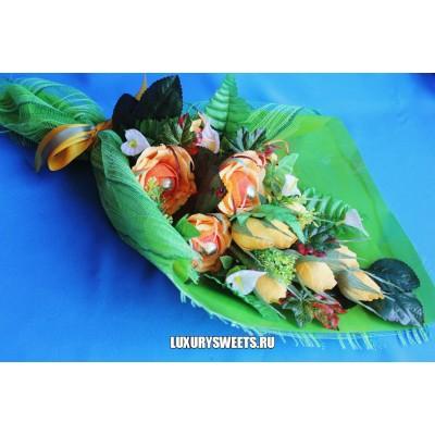 Букет из конфет Сладкие розы