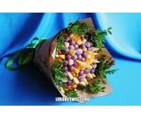 Мужской букет-закуска из сухофруктов и сыраФейерверк вкуса