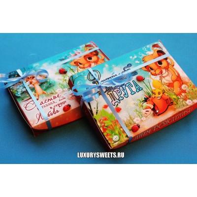 Оформление коробки конфет 13