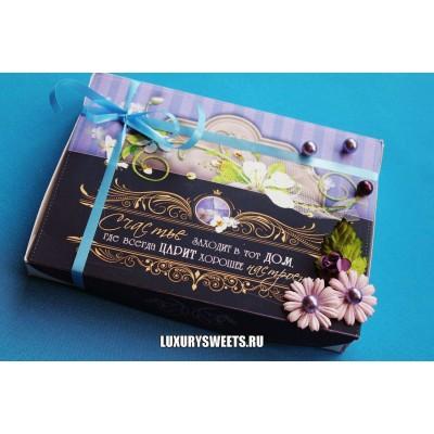 Оформление коробки конфет 9